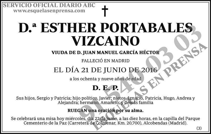 Esther Portabales Vizcaino